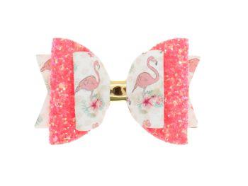 Fancy Flamingos Regular Bow