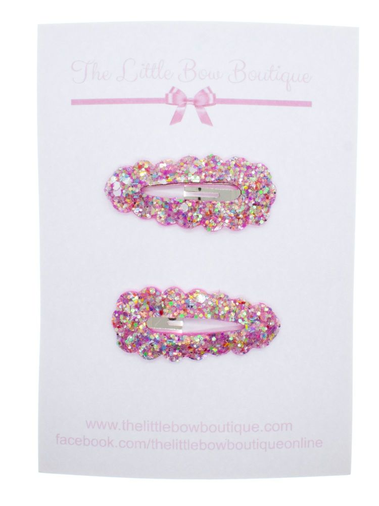 Snap Clips – Party Pink Set of 2