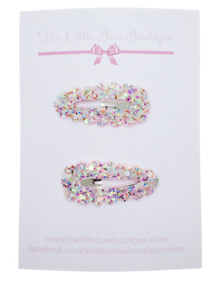 Snap Clips – Sparkly Sprinkles Set of 2