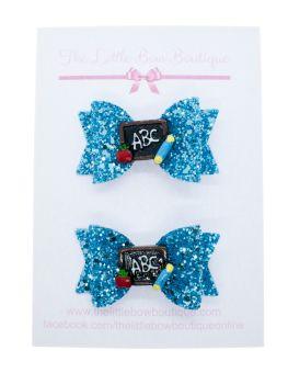 Blackboard Cutie 2 small bows