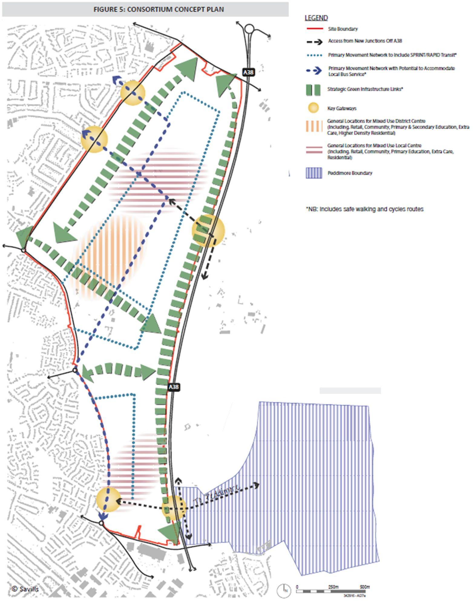 Consortium Concept Plan Langley Sutton Coldfield
