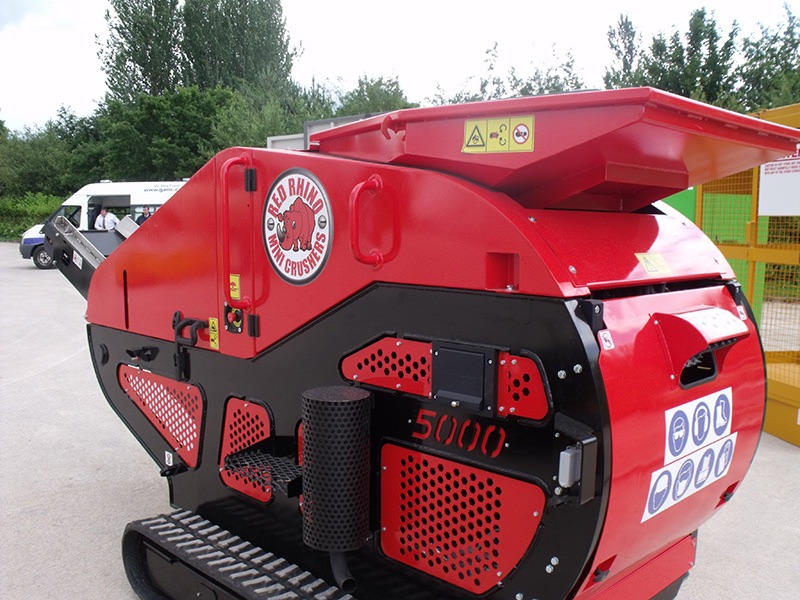 Crusher at Midland Crusher Hire