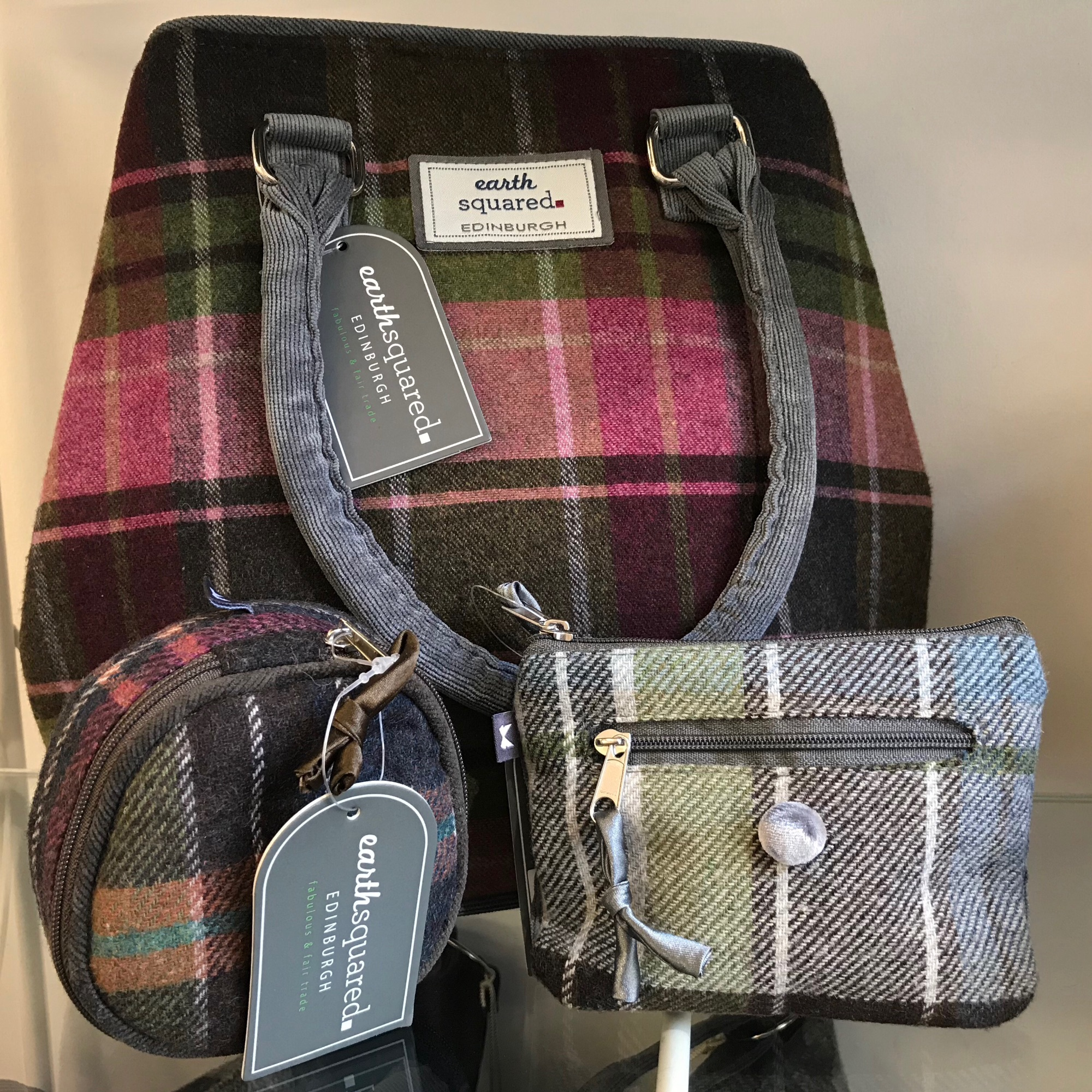 Earth Squared  bags and purses - fair trade and fabulous