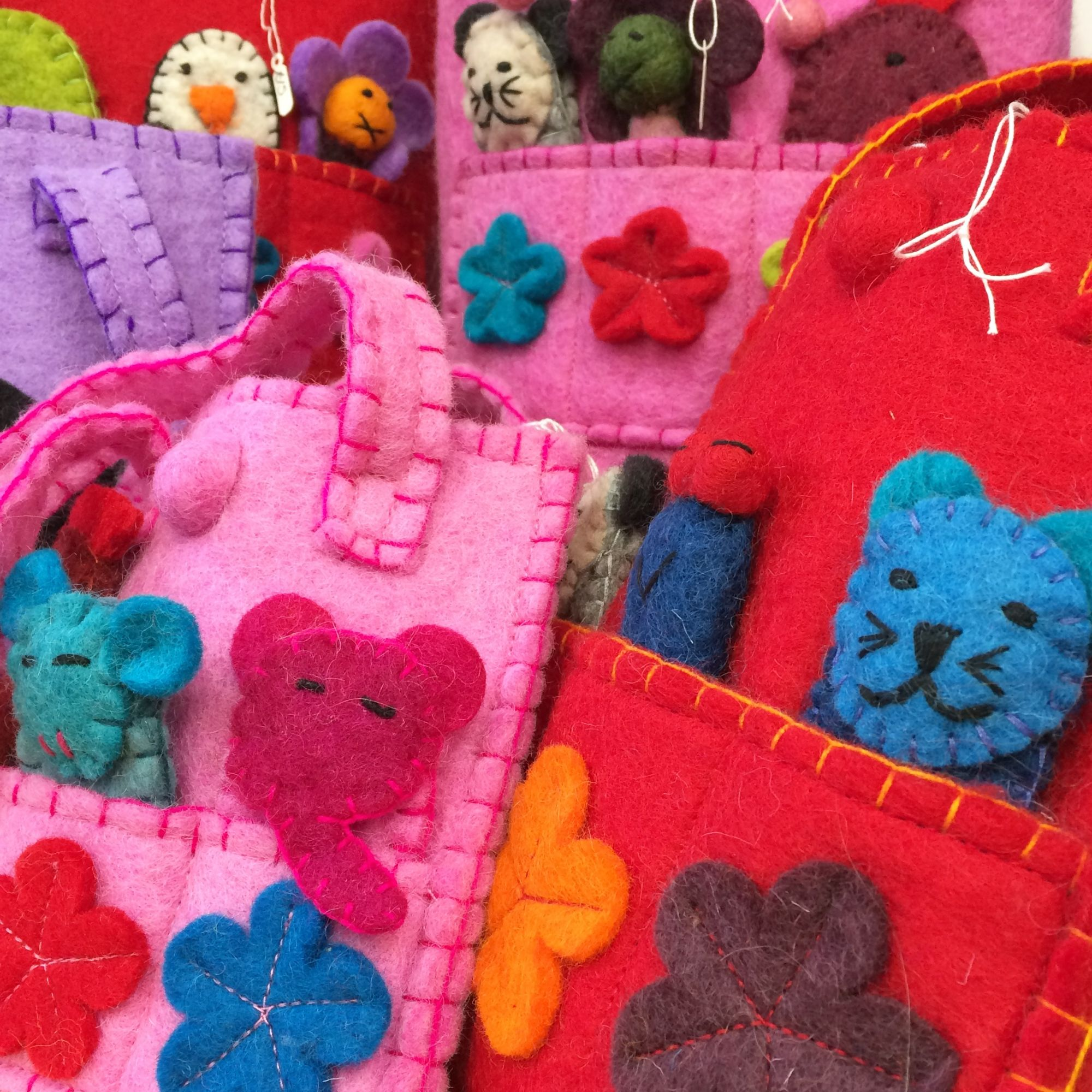 Funky Yak - felt bags, purses and more