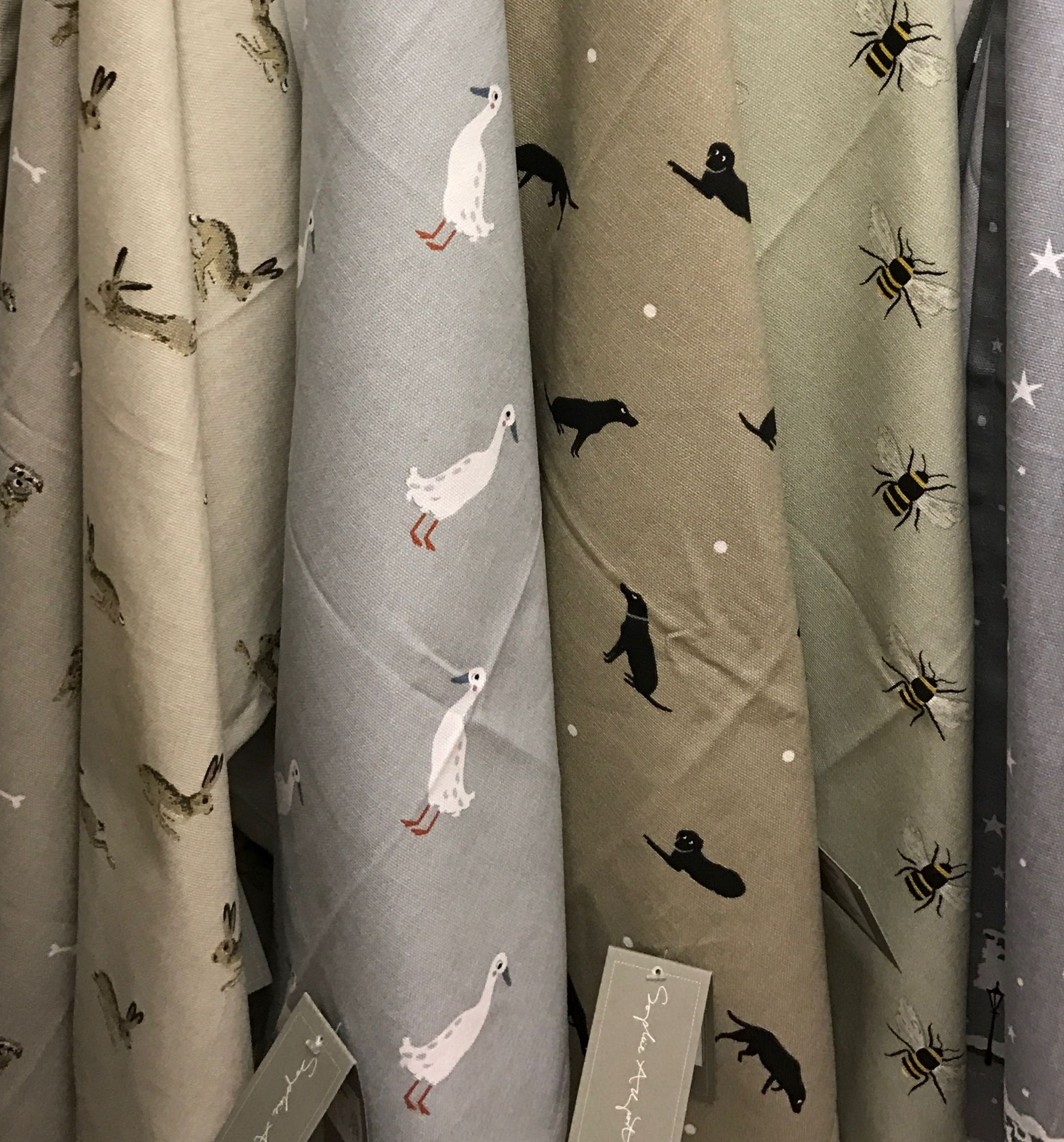 Sophie Allport textiles are super popular!