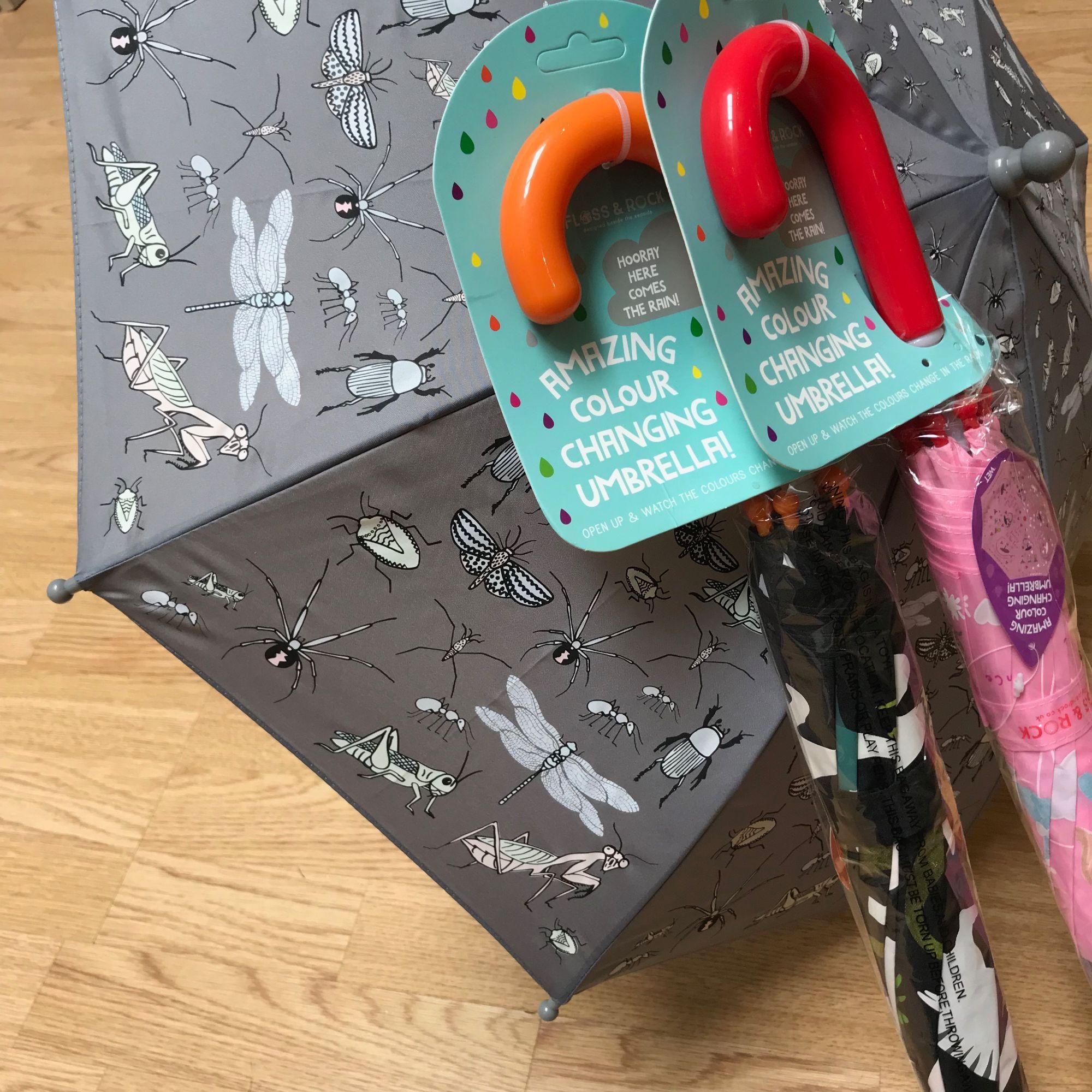 Floss and Rock - colour change umbrellas - fantastic!