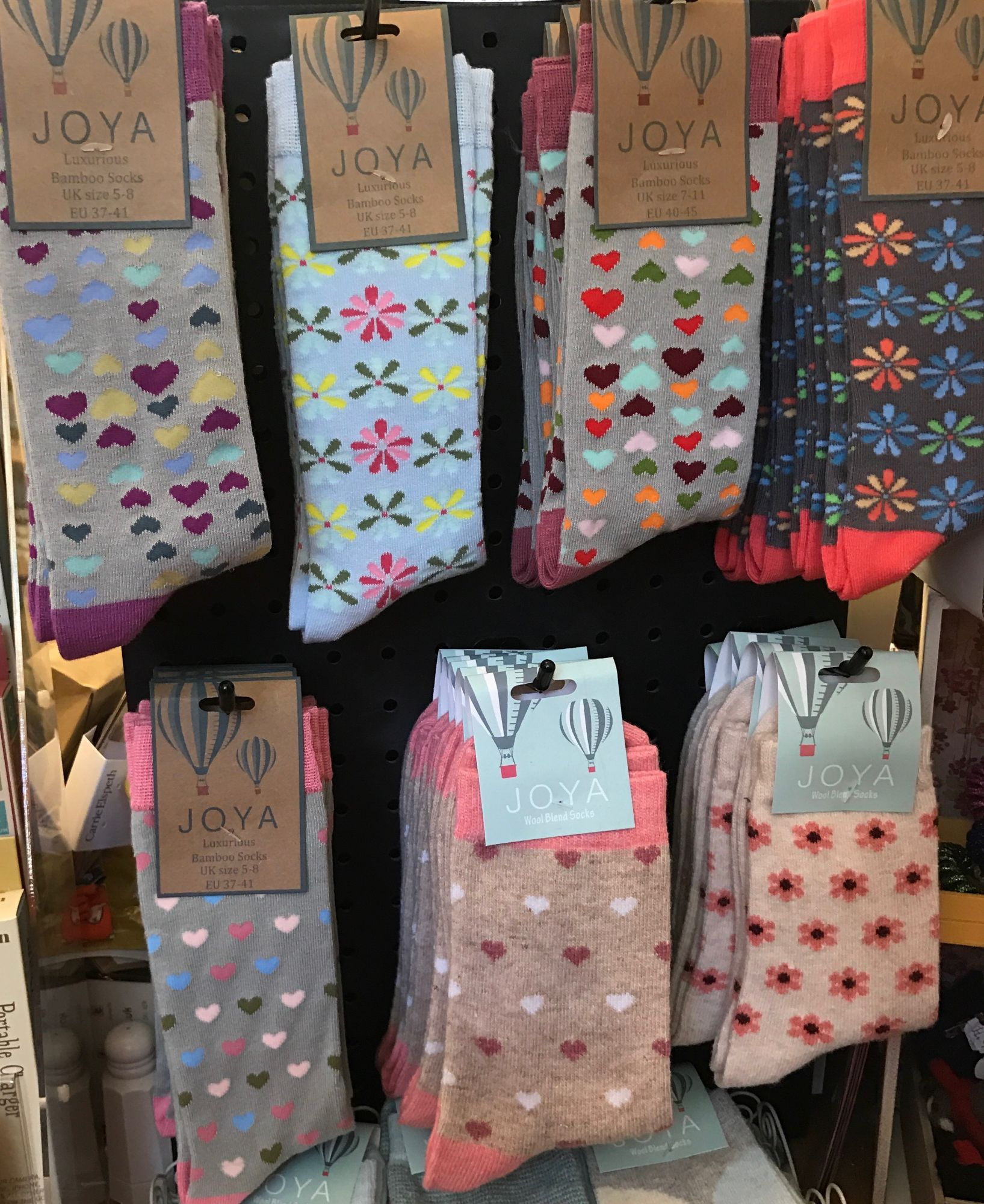 Joya socks - bamboo or wool