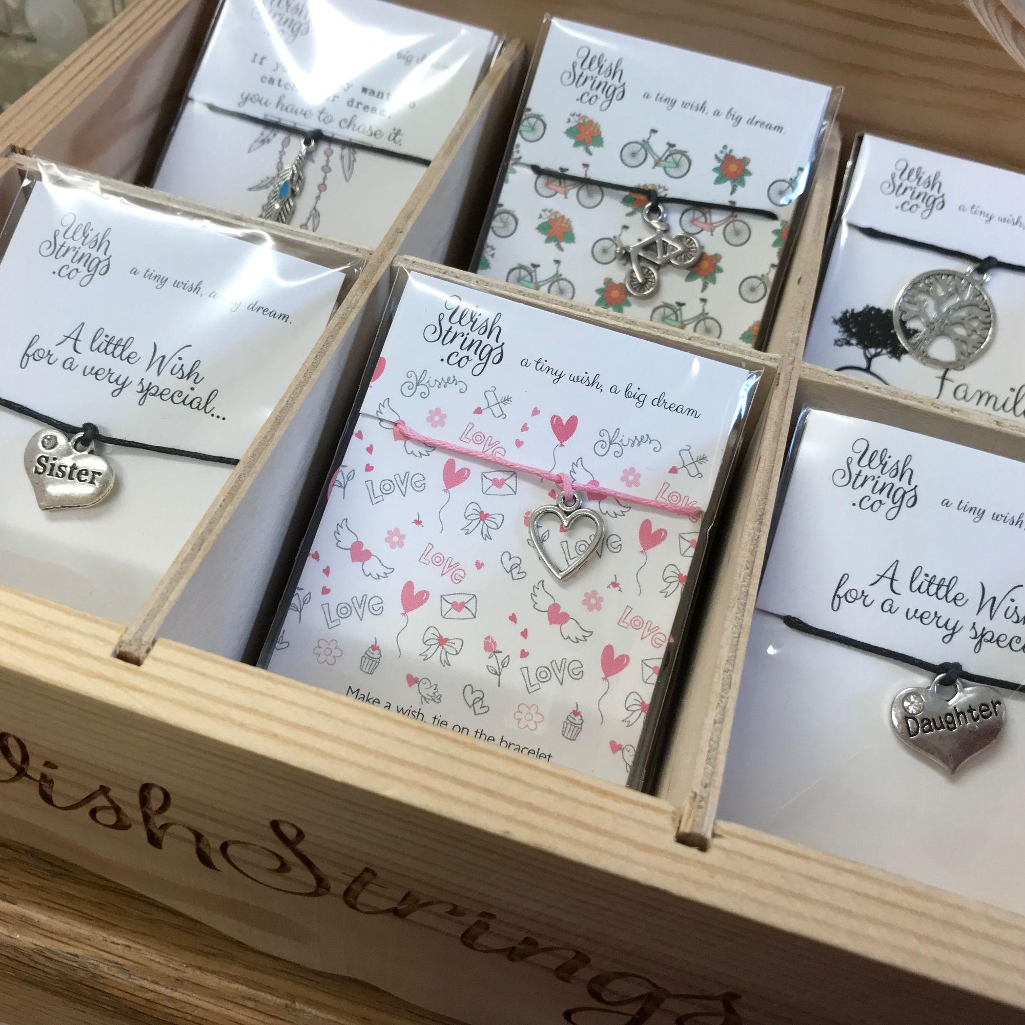 WIshstrings bracelets make great impulse buy 'extra' gifts