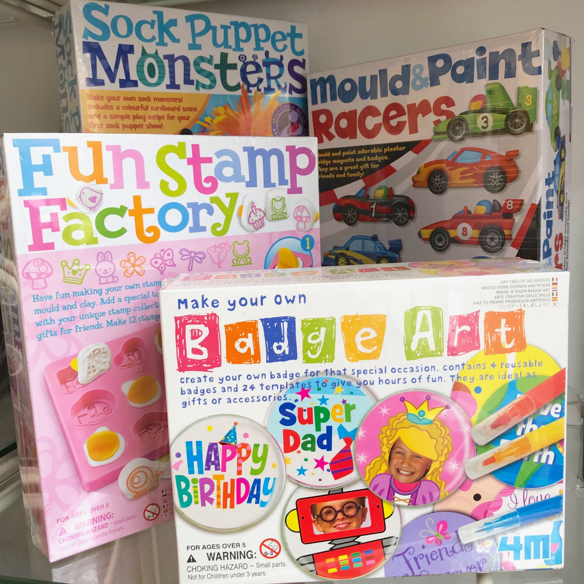 Great Gizmos have exciting making and doing kits for children
