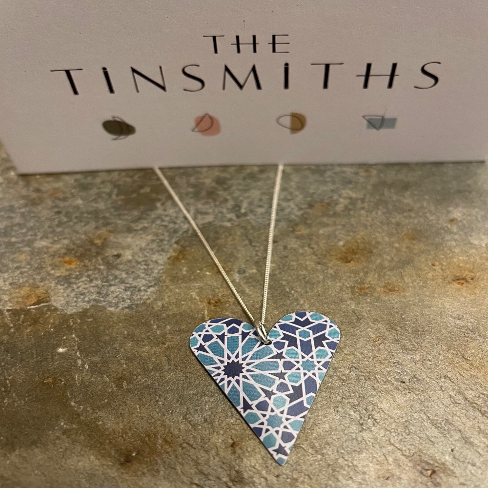 The Tinsmiths large heart necklace