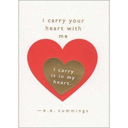 Archivist I carry your heart with me...