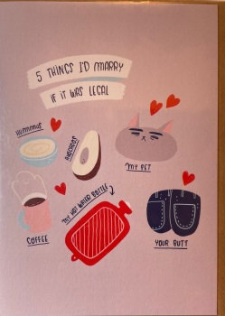 Ohh Deer 5 things I'd marry if it was legal