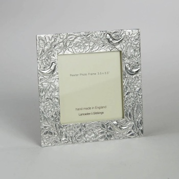 "Lancaster & Gibbings Birds photo frame 3.5 x 3.5"""