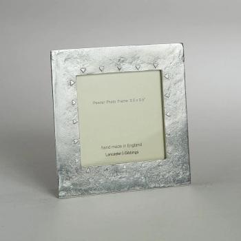 "Lancaster & Gibbings Hearts photo frame 3.5 x 3.5"""