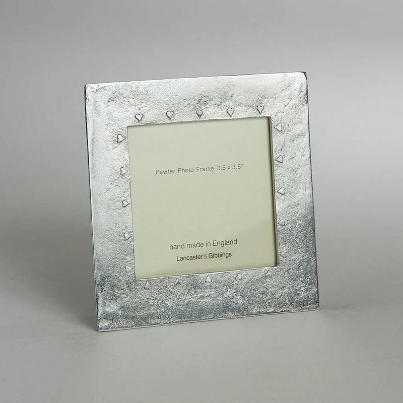 Lancaster & Gibbings Hearts photo frame 3.5 x 3.5