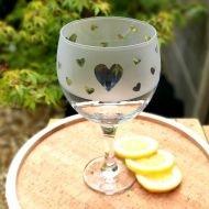 Four Hands Gin Glass - Heart