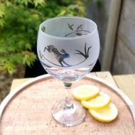 Four Hands Gin Glass - Hare