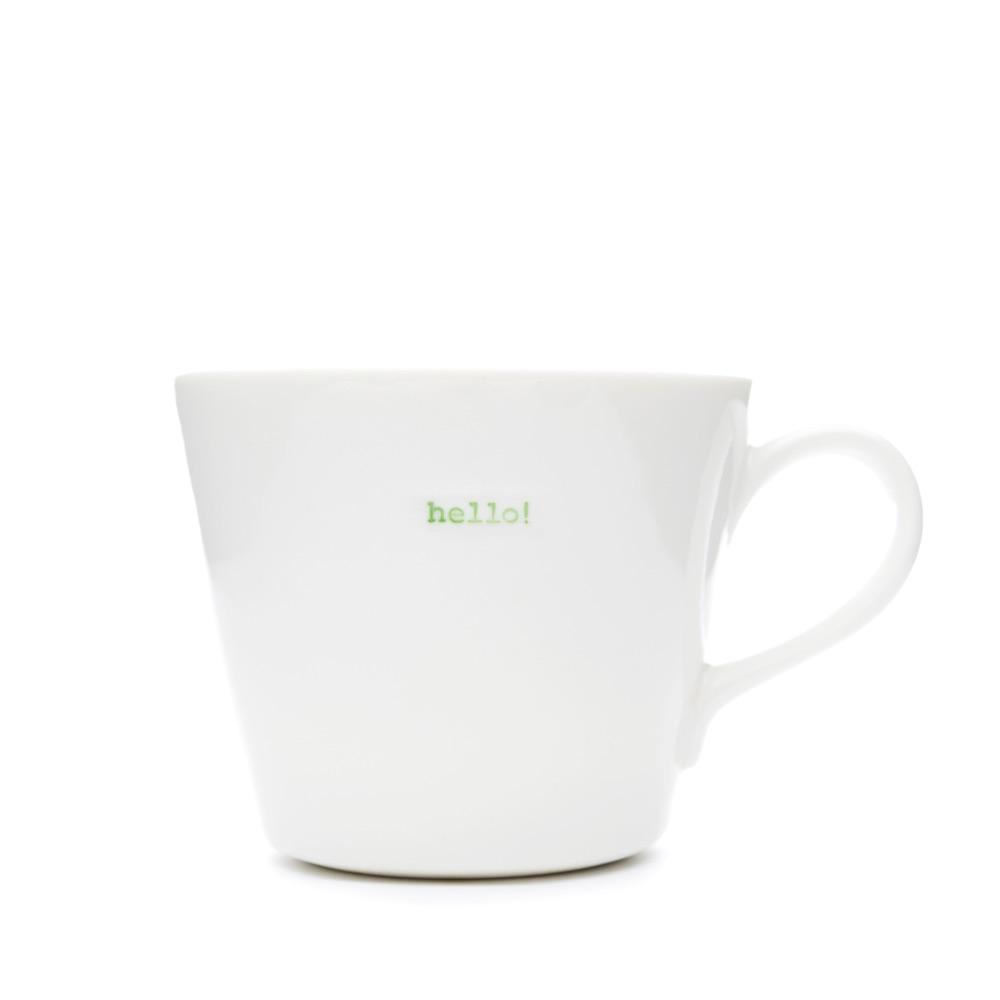 MAKE International Bucket Mug - Hello