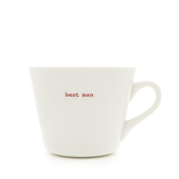 MAKE International Bucket Mug - Best Man