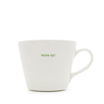 MAKE International Bucket Mug - Wake Up!