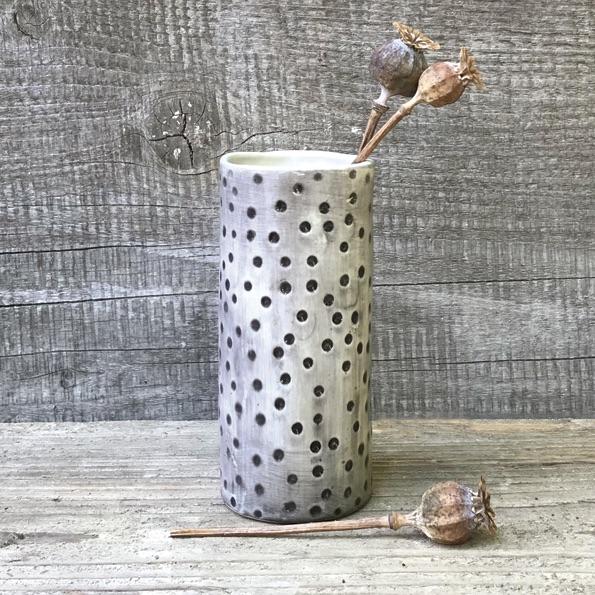 East of India Medium Vase - Dimpled Spot