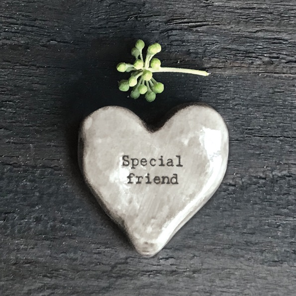 East of India Heart Token - Special Friend