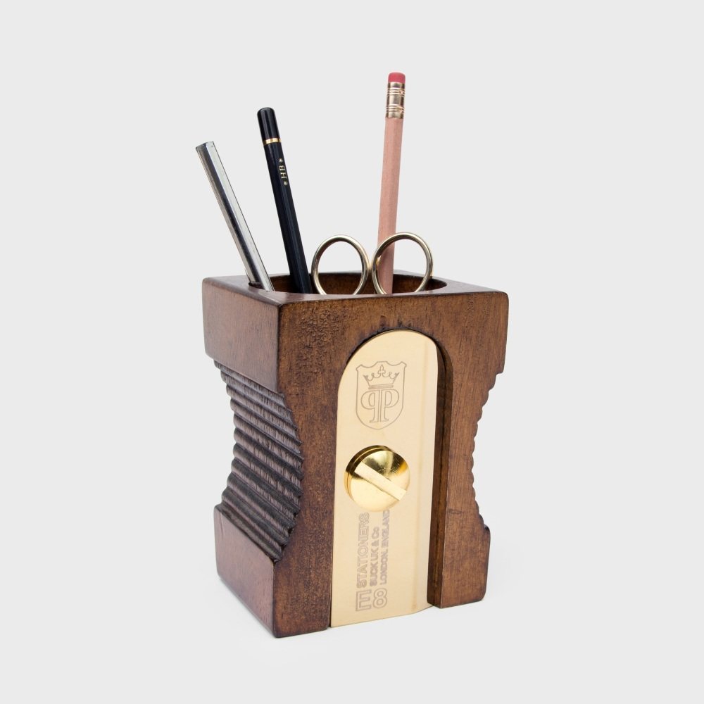 SUCK UK UK Sharpener Desk Tidy - Dark