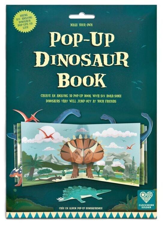 Clockwork Soldier Pop-Up Dinosaur Book