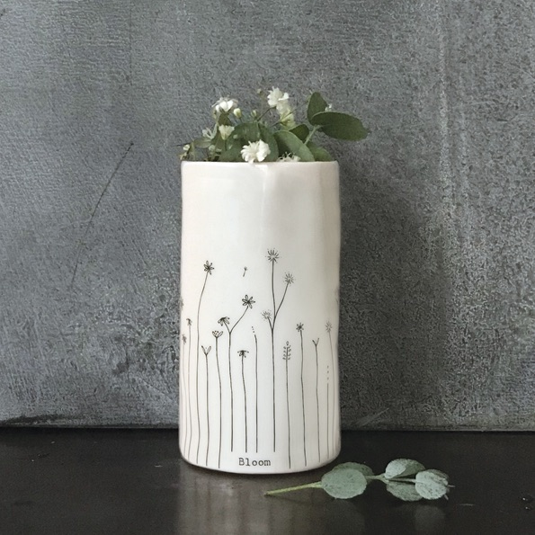 East of India Small Porcelain Vase - Bloom