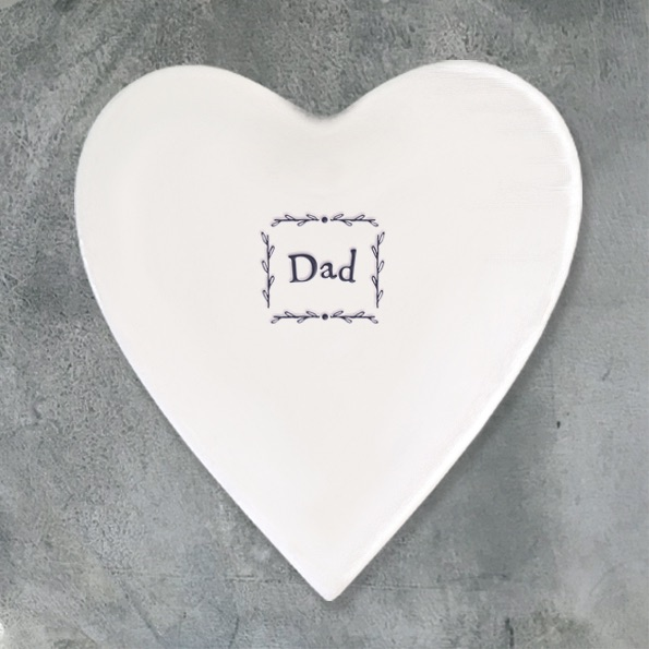 East of India Heart Coaster - Dad