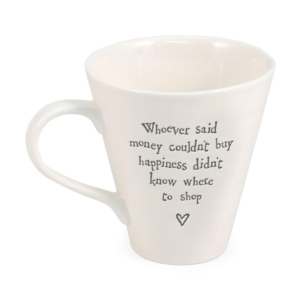 East of India Porcelain Mug - Whoever