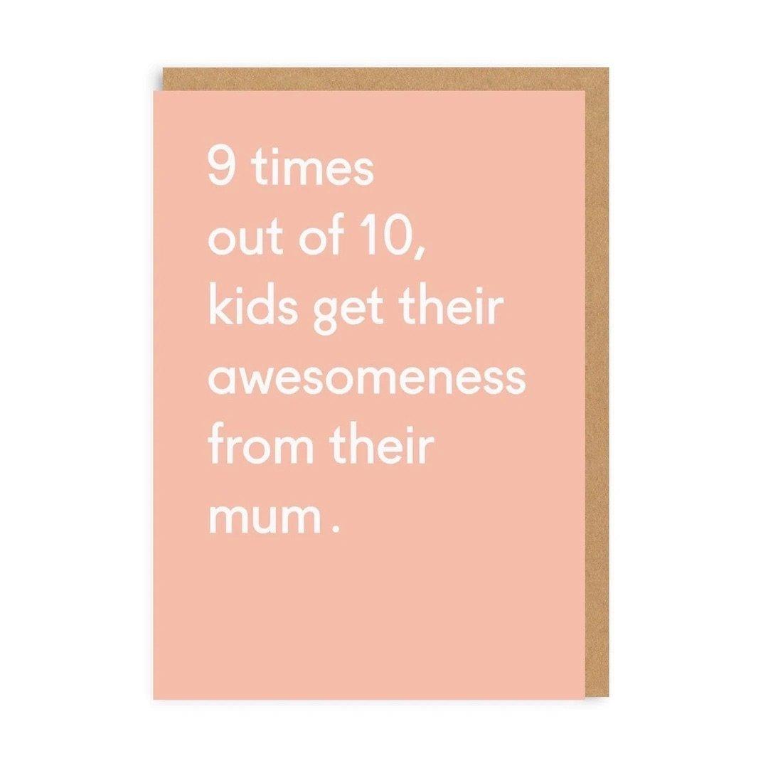 Ohh Deer - So grateful for you mum