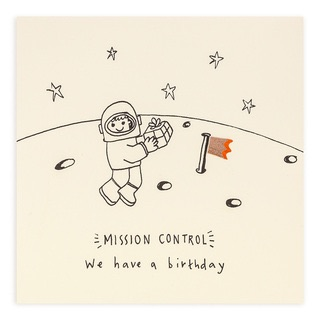 Ruth Jackson - Birthday astronaut