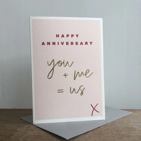 Megan Claire - Happy Anniversary: you + me = us