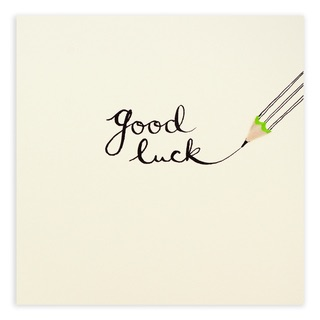 Ruth Jackson - Good luck pencil
