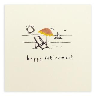 Ruth Jackson - Happy retirement deckchair