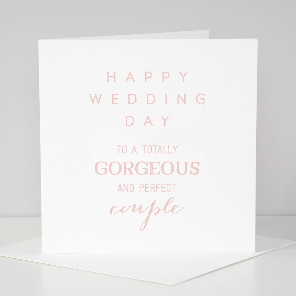Megan Claire - Happy Wedding Day to a totally gorgeous and perfect couple