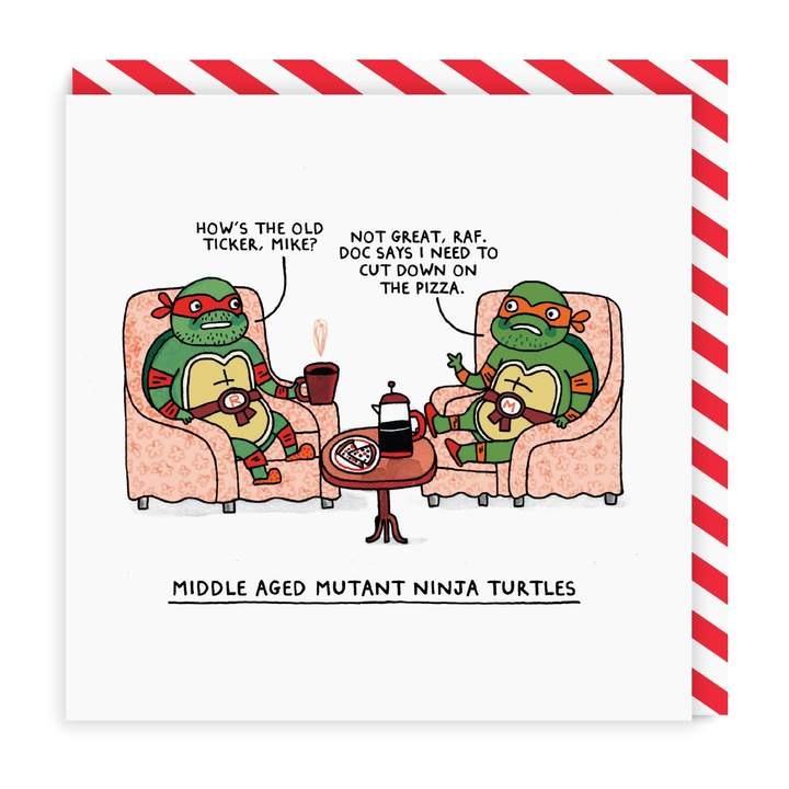 Ohh Deer - Middle Aged Mutant Ninja Turtles