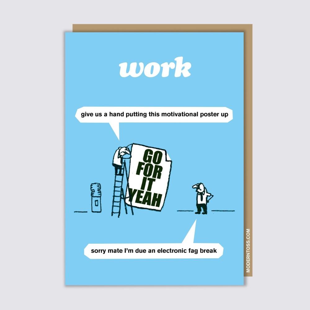 Modern Toss - Motivational Poster
