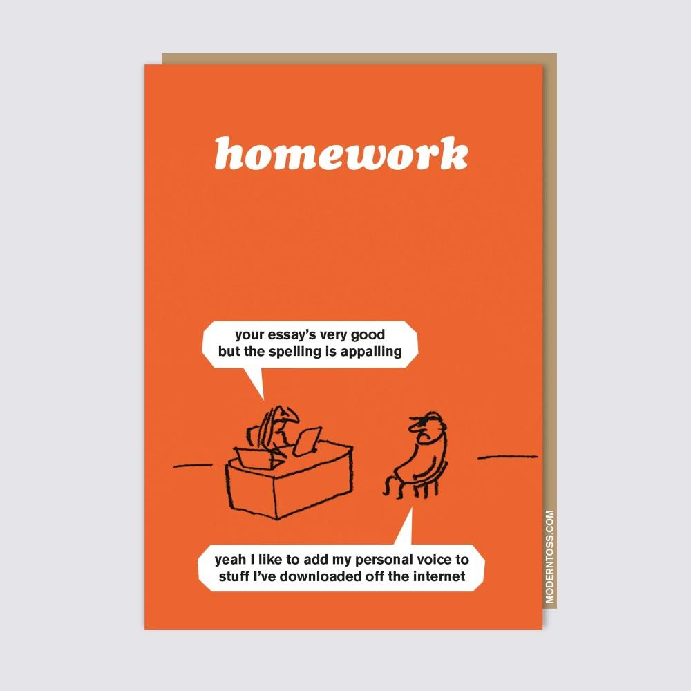 Modern Toss - Homework