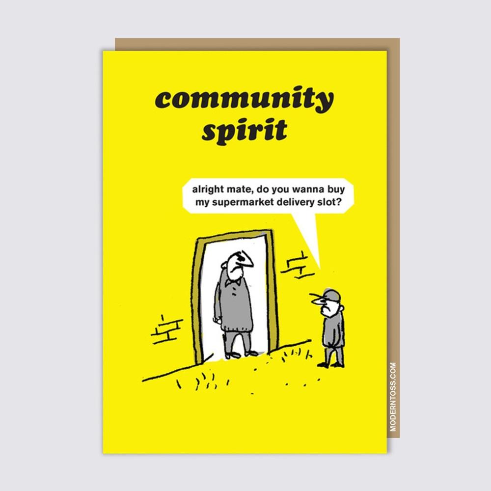 Modern Toss - Community Spirit