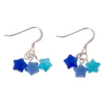 Carrie Elspeth - Cats eye stars (blue)