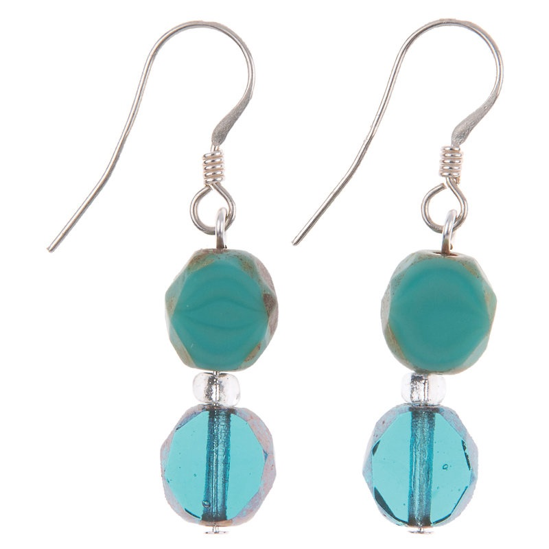 Carrie Elspeth - Ocean bohemian earrings