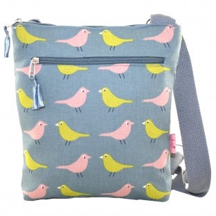 Lua Small Messenger Bag - Birds