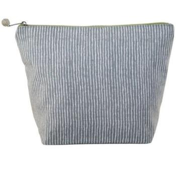 Lua Large Cosmetic Bag - Stripes