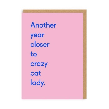 Ohh Deer - Another year closer to crazy cat lady