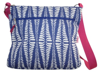 Lua Messenger Bag - Blue Fern
