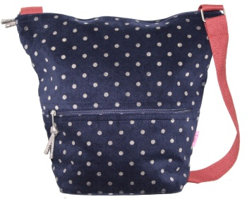Lua Bucket Bag - Blue Dotty