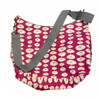 Lua Slouch Bag - Pink Circles