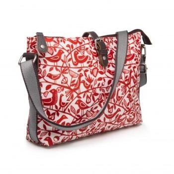 Nicky Jones Day Bag - Red Doves